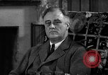 Image of President Franklin Roosevelt Washington DC USA, 1936, second 2 stock footage video 65675054682