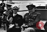 Image of dignitaries at Atlantic Conference Atlantic Ocean, 1941, second 1 stock footage video 65675054692