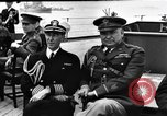 Image of dignitaries at Atlantic Conference Atlantic Ocean, 1941, second 2 stock footage video 65675054692