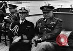 Image of dignitaries at Atlantic Conference Atlantic Ocean, 1941, second 4 stock footage video 65675054692
