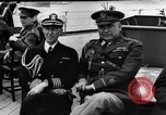 Image of dignitaries at Atlantic Conference Atlantic Ocean, 1941, second 5 stock footage video 65675054692