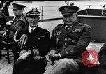 Image of dignitaries at Atlantic Conference Atlantic Ocean, 1941, second 6 stock footage video 65675054692