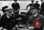 Image of dignitaries at Atlantic Conference Atlantic Ocean, 1941, second 7 stock footage video 65675054692