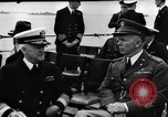 Image of dignitaries at Atlantic Conference Atlantic Ocean, 1941, second 8 stock footage video 65675054692