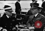 Image of dignitaries at Atlantic Conference Atlantic Ocean, 1941, second 9 stock footage video 65675054692