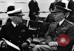 Image of dignitaries at Atlantic Conference Atlantic Ocean, 1941, second 11 stock footage video 65675054692