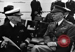 Image of dignitaries at Atlantic Conference Atlantic Ocean, 1941, second 12 stock footage video 65675054692