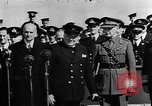 Image of Winston Churchill Atlantic Ocean, 1941, second 1 stock footage video 65675054696