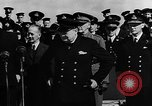 Image of Winston Churchill Atlantic Ocean, 1941, second 5 stock footage video 65675054696