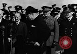 Image of Winston Churchill Atlantic Ocean, 1941, second 7 stock footage video 65675054696