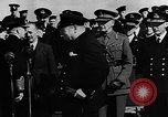 Image of Winston Churchill Atlantic Ocean, 1941, second 8 stock footage video 65675054696