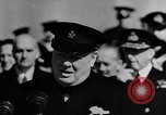 Image of Winston Churchill Atlantic Ocean, 1941, second 5 stock footage video 65675054698