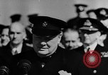 Image of Winston Churchill Atlantic Ocean, 1941, second 10 stock footage video 65675054698