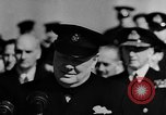 Image of Winston Churchill Atlantic Ocean, 1941, second 11 stock footage video 65675054698