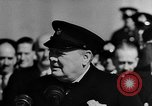 Image of Winston Churchill Atlantic Ocean, 1941, second 1 stock footage video 65675054699