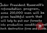 Image of reforestation program by CCC Washington DC USA, 1936, second 10 stock footage video 65675054704