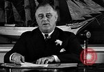 Image of President Franklin Roosevelt speaks about WPA Washington DC USA, 1935, second 7 stock footage video 65675054707
