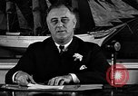Image of President Franklin Roosevelt speaks about WPA Washington DC USA, 1935, second 9 stock footage video 65675054707
