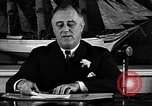 Image of President Franklin Roosevelt speaks about WPA Washington DC USA, 1935, second 10 stock footage video 65675054707