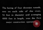 Image of Boulder Dam construction United States USA, 1936, second 3 stock footage video 65675054711