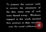 Image of Boulder Dam construction United States USA, 1936, second 1 stock footage video 65675054712