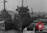 Image of USS Donnell Electric Power Barge Cherbourg Normandy France, 1944, second 9 stock footage video 65675054757