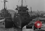 Image of USS Donnell Electric Power Barge Cherbourg Normandy France, 1944, second 10 stock footage video 65675054757