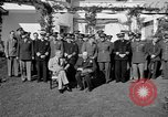 Image of press meeting Casablanca Morocco, 1943, second 9 stock footage video 65675054771