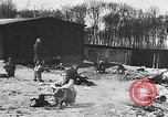 Image of German citizens view concentration camp Germany, 1945, second 1 stock footage video 65675054792