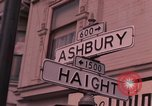 Image of Haight Ashbury hippie scenes in the 1960s San Francisco California USA, 1968, second 1 stock footage video 65675054804