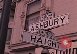 Image of Haight Ashbury hippie scenes in the 1960s San Francisco California USA, 1968, second 2 stock footage video 65675054804