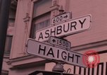 Image of Haight Ashbury hippie scenes in the 1960s San Francisco California USA, 1968, second 4 stock footage video 65675054804