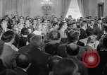 Image of Lyndon Johnson Washington DC USA, 1965, second 7 stock footage video 65675054825