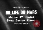 Image of Mariner IV tracking station Spain, 1965, second 2 stock footage video 65675054831