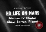 Image of Mariner IV tracking station Spain, 1965, second 5 stock footage video 65675054831