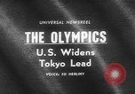 Image of Tokyo Olympics Tokyo Japan, 1964, second 1 stock footage video 65675054839