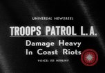 Image of Watts race riots Los Angeles California USA, 1965, second 3 stock footage video 65675054841