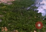 Image of USAF A-1E strafing in Vietnam War Vietnam, 1965, second 8 stock footage video 65675054857