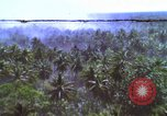 Image of American bombardment of Vietcong target areas Vietnam, 1965, second 1 stock footage video 65675054859