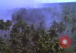 Image of American bombardment of Vietcong target areas Vietnam, 1965, second 7 stock footage video 65675054859