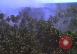 Image of American bombardment of Vietcong target areas Vietnam, 1965, second 9 stock footage video 65675054859