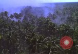 Image of American bombardment of Vietcong target areas Vietnam, 1965, second 10 stock footage video 65675054859