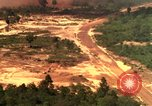 Image of American bombardment of Viet Cong positions Bien Hoa Vietnam, 1965, second 5 stock footage video 65675054870