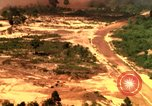 Image of American bombardment of Viet Cong positions Bien Hoa Vietnam, 1965, second 8 stock footage video 65675054870