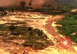 Image of American bombardment of Viet Cong positions Bien Hoa Vietnam, 1965, second 10 stock footage video 65675054870