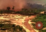 Image of American bombardment of Viet Cong positions Bien Hoa Vietnam, 1965, second 12 stock footage video 65675054870