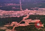 Image of bombardment of target areas Bien Hoa Vietnam, 1965, second 5 stock footage video 65675054871