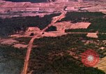 Image of bombardment of target areas Bien Hoa Vietnam, 1965, second 9 stock footage video 65675054871