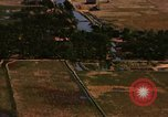 Image of Viet Cong huts bombed Soc Trang Vietnam, 1965, second 2 stock footage video 65675054877