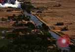 Image of Viet Cong huts bombed Soc Trang Vietnam, 1965, second 8 stock footage video 65675054877